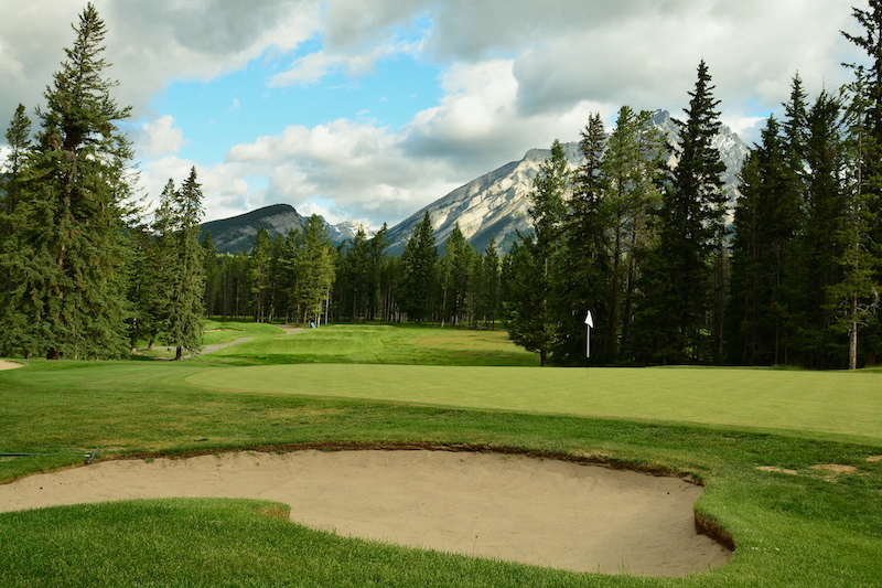 mountain golf course