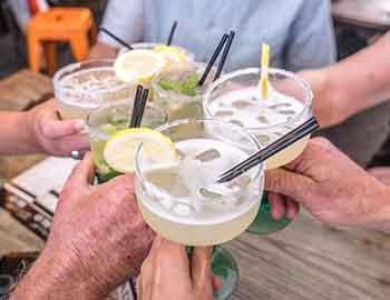 Margaritas at a Margarita festival