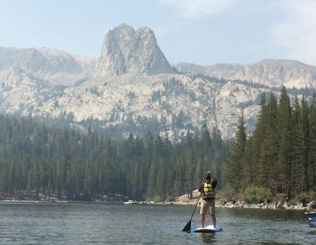 Lake Mary Mammoth Paddle Boarding