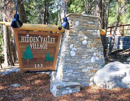 Hidden Valley condo complex at Mammoth