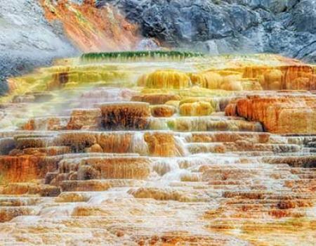 Falls at Yellowstone