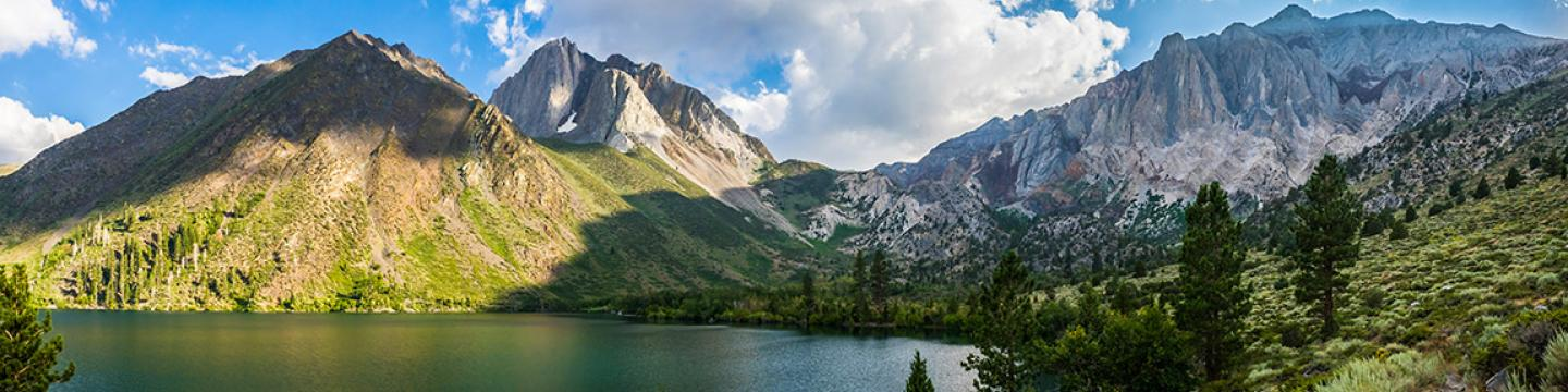 View of Convict Lake from Convict Lake Loop