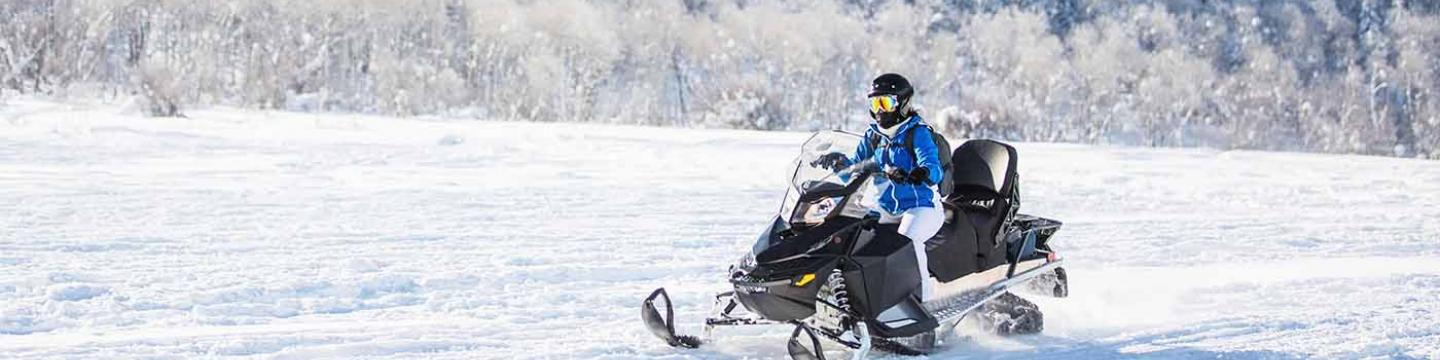 Snowmobile adventure trip in Mammoth Lakes, CA