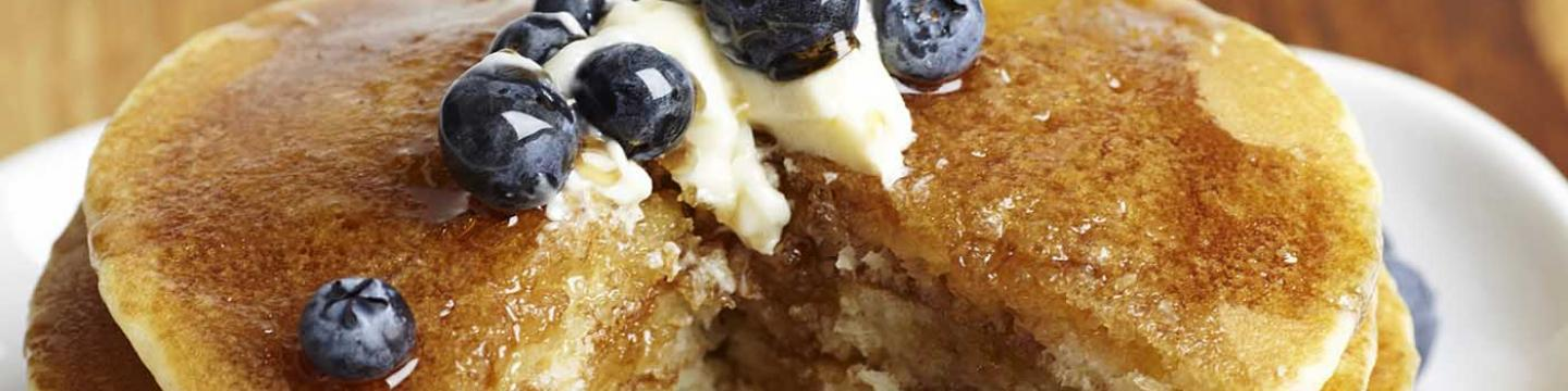 The Stove's blueberry breakfast pancakes