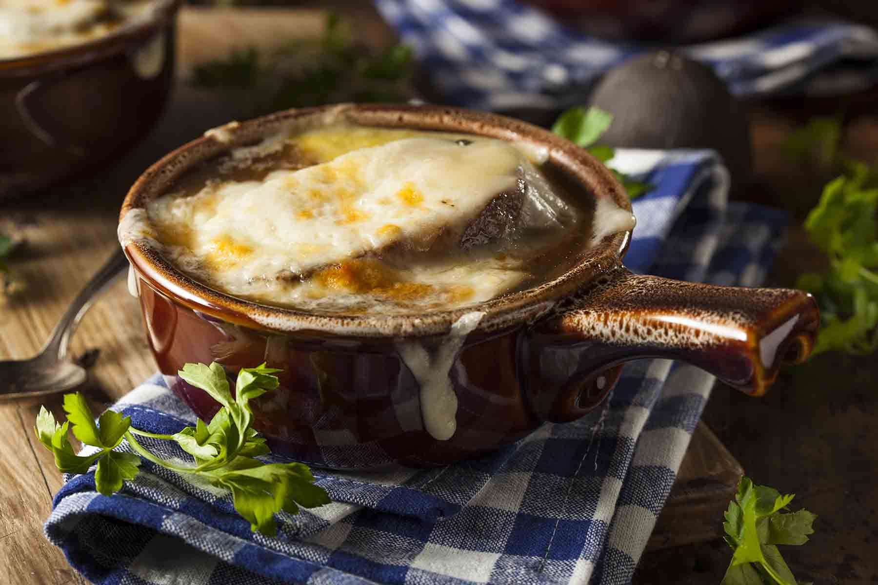 French Onion Soup from Mammoth Tavern